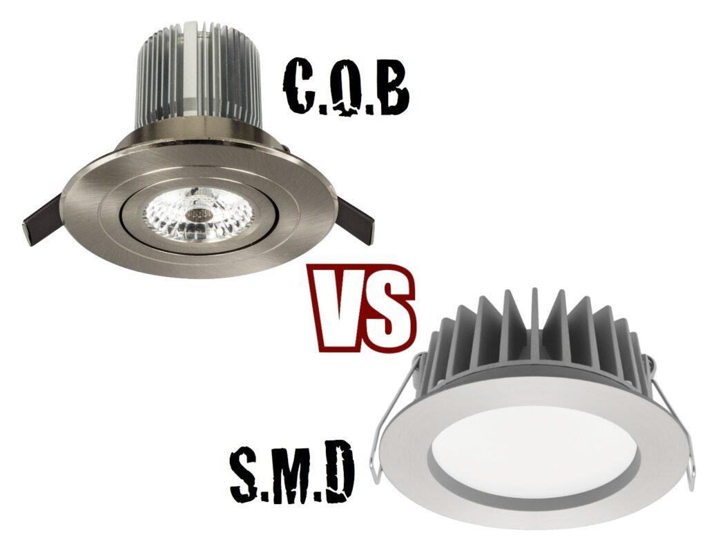 تکنولوژی های COB LED و SMD LED