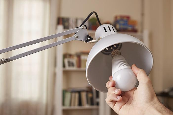 چراغ های LED کم مصرف