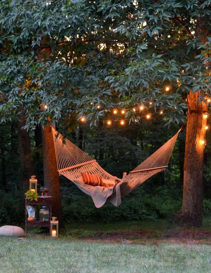 نور پردازی حیاط با ریسه LED