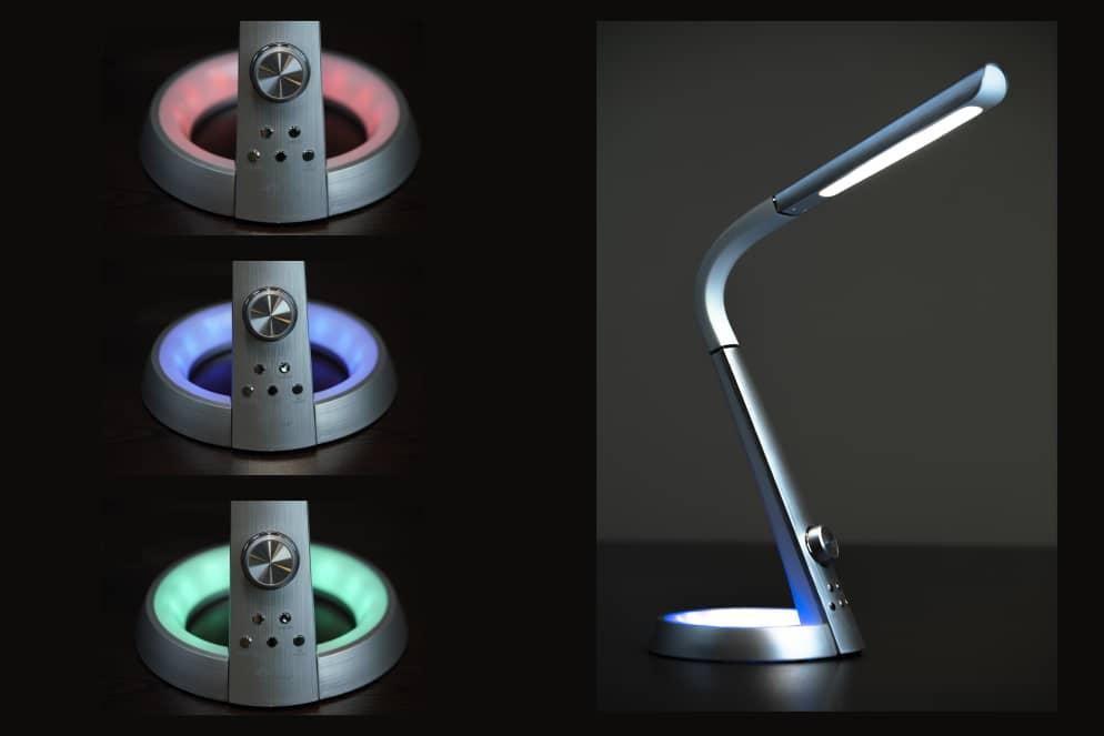 چراغ مطالعه مهندسی LED مدل 1063 سیلورلایت